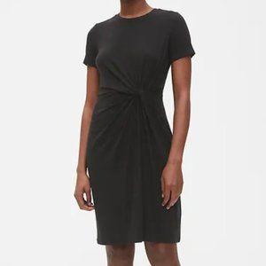 GAP Twist-Knot Black Dress